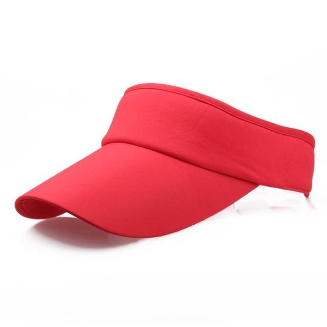 New Arrival Fashion Adjustable Men Women Summer Sport Headband Classic Sun Sports Visor Hat Cap High Quality