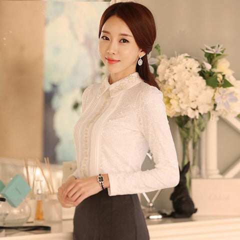 Long Sleeve Shirt For Women Formal Wear