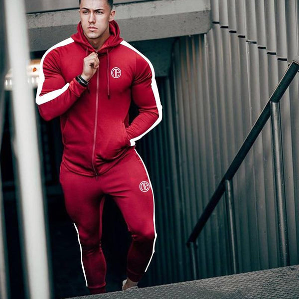 New Men Bodybuilding Fashion Hoodies Sweatshirts Man Gyms Fitness Joggers Workout Sportswear Male Casual Tracksuit Tops Clothing