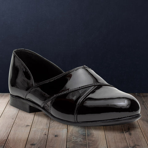 Treemoda Black Leather Sandal For Men
