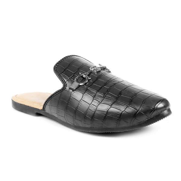 Treemoda Black Mules for Men/Boys