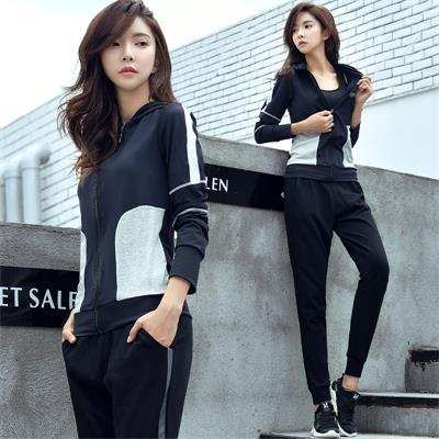 Sportswear For Fitness Yoga Set Women Fitness Bra Leggings Breathable Sport Suit 3 Pcs Outdoor Jogging Gym Clothing Sportswear