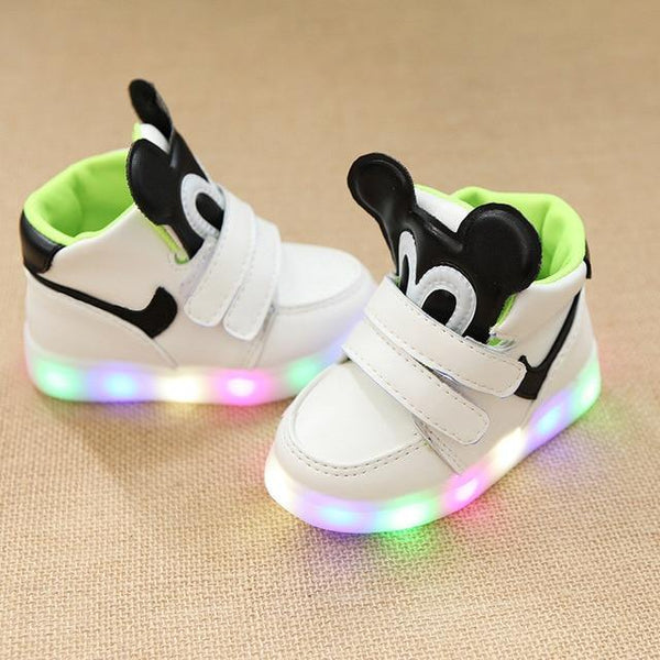 Children Leisure Led  Luminescent shoes for girls and boys