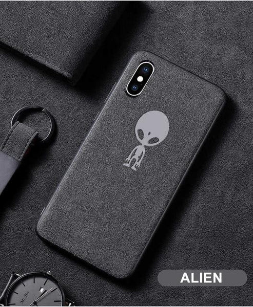New Phone Case For iPhone XS MAX XR X 6 6S 7 8 Plus Ultra Thin Shockproof Matte Leather Soft TPU iPhone X Cover