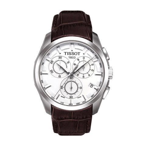 Tissot 1853 Couturier Silver Dial Men Watch T035.617.16.031.00