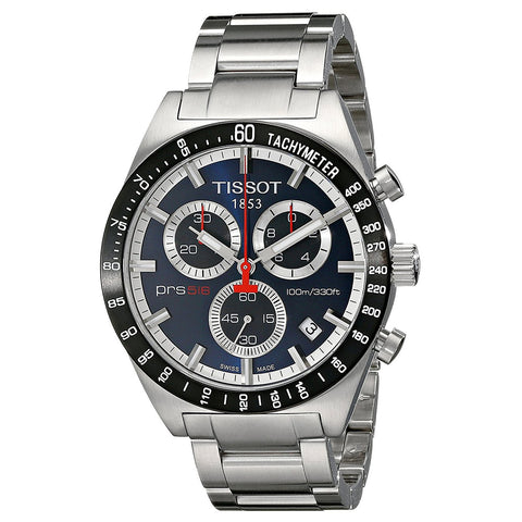 Tissot T Sport PRS 516 Chronograph Blue Dial Men Watch T044.417.21.041.00