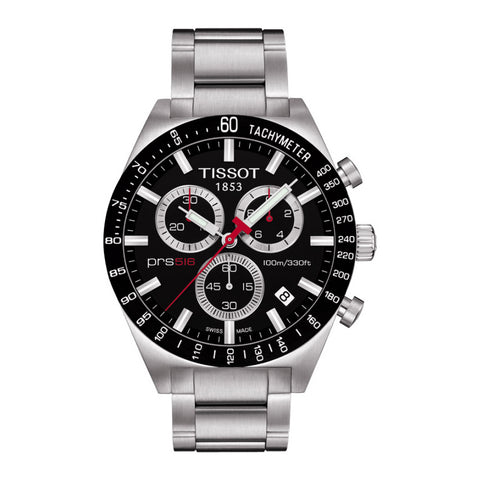 Tissot PRS 516 Chronograph Stainless Steel Men Watch T044.417.21.051.00