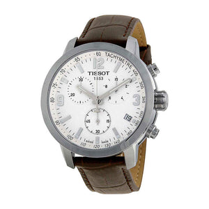 Tissot PRC 200 Chronograph White Dial Men Watch T055.417.16.017.01