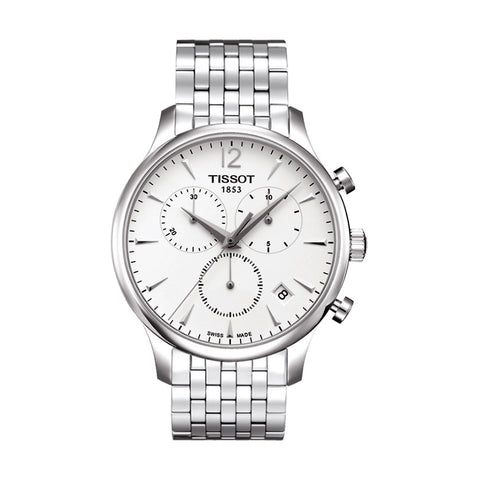 Tissot T-Classic Tradition Chronograph Stainless Steel Men Watch T063.617.11.037.00