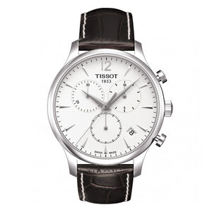 Tissot T-Classic Tradition Chronograph Silver Dial Men Watch T063.617.16.037.00