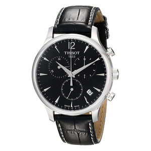 Tissot T-Classic Tradition Chronograph Black Dial Men Watch T063.617.16.057.00