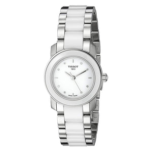 Tissot T-Trend Cera Stainless Steel Women Watch T064.210.22.016.00
