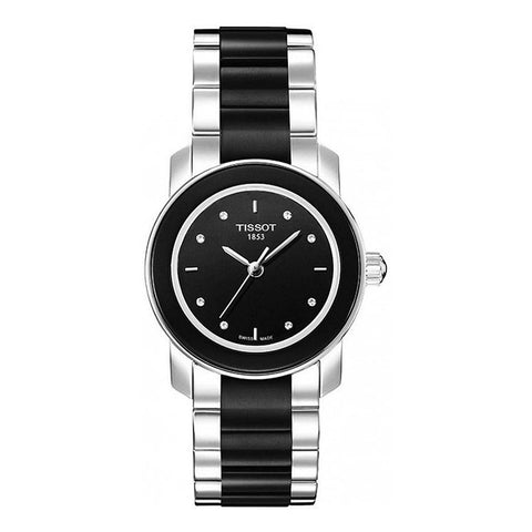 Tissot T-Trend Cera Stainless Steel Women Watch T064.210.22.056.00