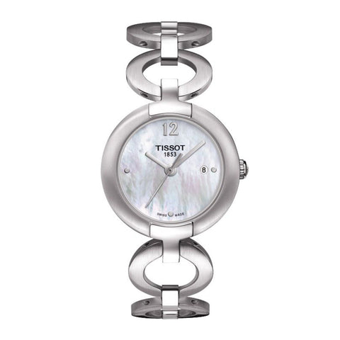 Tissot Pinky Mother of Pearl Dial Stainless Steel Women Watch T084.210.11.117.01