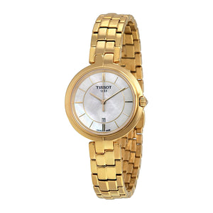 Tissot Flamingo Gold-tone Stainless Steel Women Watch T094.210.33.111.00