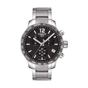 Tissot Quickster Chronograph Anthracite Dial Men Watch T095.417.11.067.00