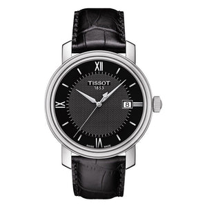 Tissot Bridgeport Black Dial Men Watch T097.410.16.058.00