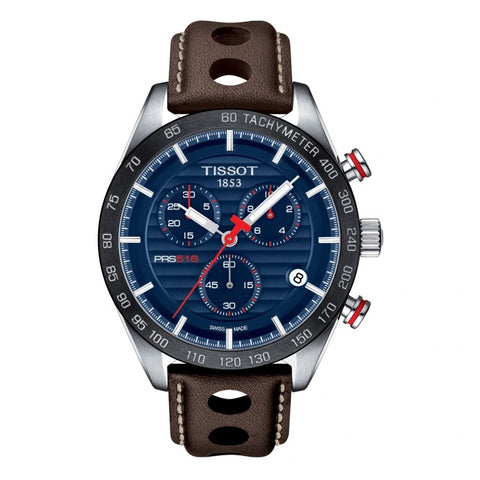 Tissot T Sport PRS 516 Chronograph Blue Dial Men Watch T100.417.16.041.00