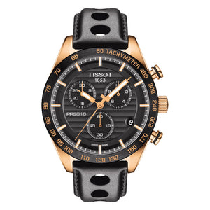 Tissot PRS 516 Chronograph Black Dial Men Watch T100.417.36.051.00