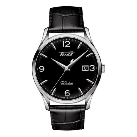Tissot Heritage Visodate Black Dial Men Watch T118.410.16.057.00