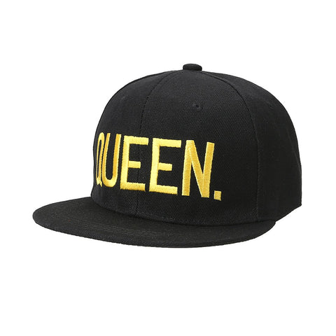 Queen Embroidered Baseball Designer cap