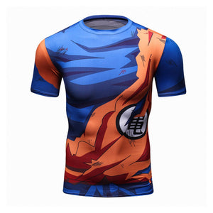 Goku Gym Compression Dragon Ball Z T-Shirt