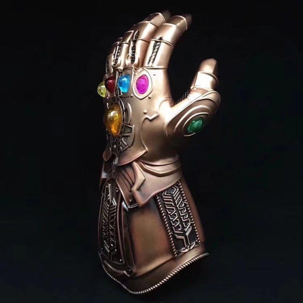 Thanos Infinity Gauntlet Avengers End Game Gloves Superhero Thanos Action Figure PVC New Collection figures toys Collection