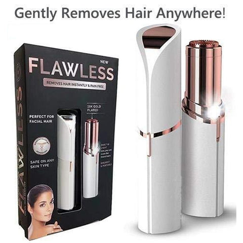Flawless Wax Finishing Touch Hair Remover Razor