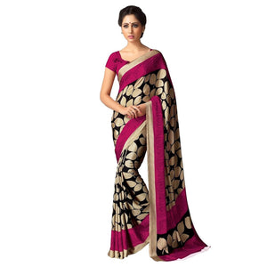 Printed Silk Sarees for Women