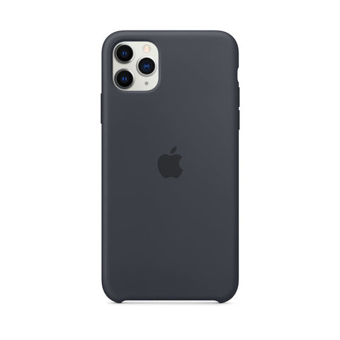 iPhone 11 Silicone Grey iPhone Case By Treemoda