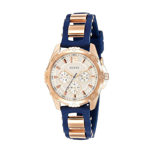 Guess Chronograph White Dial Women Watch W0325L8