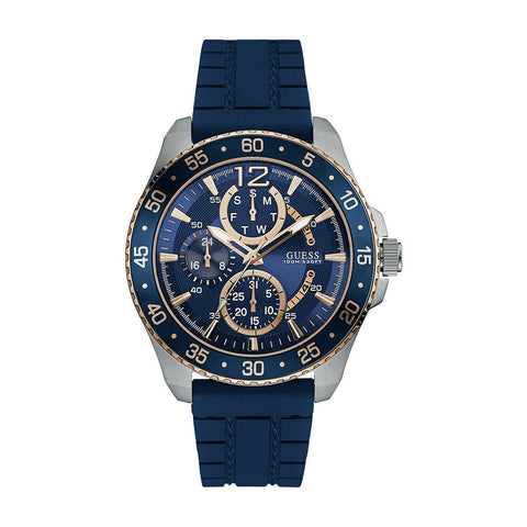 Guess Chronograph Blue Dial Men's Watch W0798G2