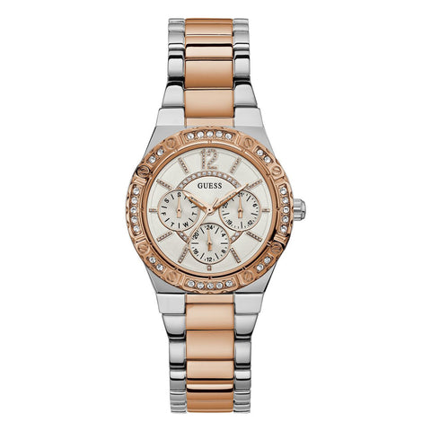 Guess Women W0845L6 Envy Multi-function White Dial Watch