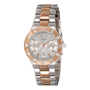 Guess Glisten Multi-Function Stainless Steel Women Watch W14551L1