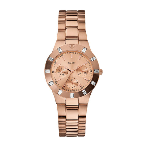 Guess Multi-Function Stainless Steel Women Watch W16017L1