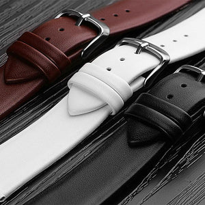 Watchbands Genuine Leather Watch Band straps 12mm 14mm 16mm 18mm 20mm 22mm Watch accessories Women Men Brown Black Belt band