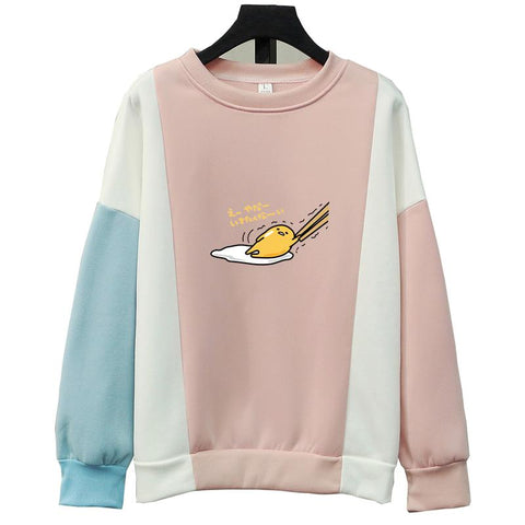 Women Sweatshirts Autumn Winter Printing Anime Cartoon Hoodies Clothings