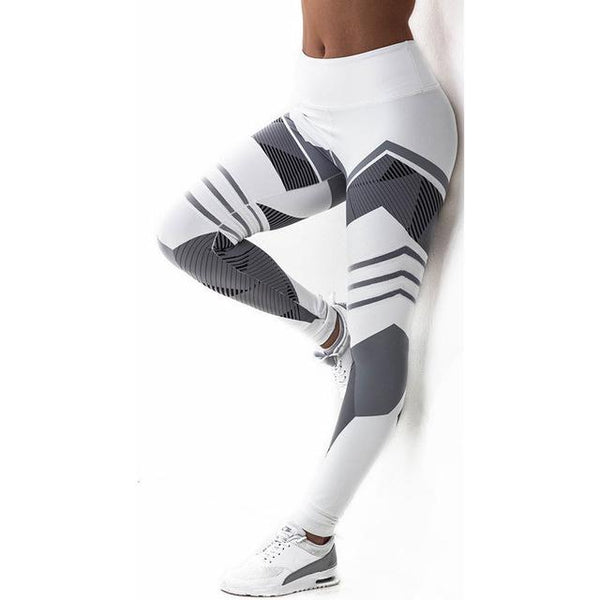 Women Yoga Pants Compression Elastic Gym Fitness Sports Leggings Tights Woman Running Jogging Sportswear Girl Training Trousers