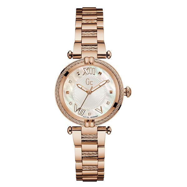 GC CableChic Mother of Pearl Dial Women Watch Y18114L1