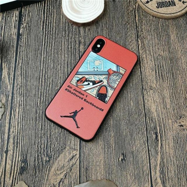 basketball nba AIR jordan 45 case for iphone X XS MAX XR  10 8 7 6 6s plus cases luxury soft silicone phone cover fundas coque