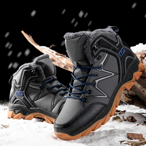 Leather Waterproof Winter Boots