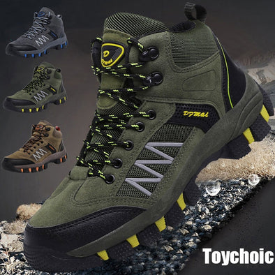 Outdoor Winter Sneakers Non-slip Hiking Shoes Men