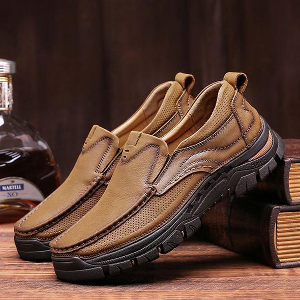 Spring Autumn Men's Genuine Leather Fashion Shoes