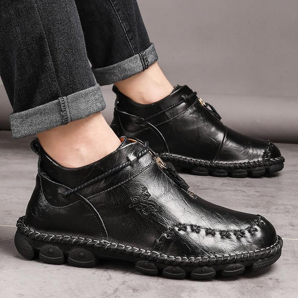 Autumn Early Winter Men Ankle Boots