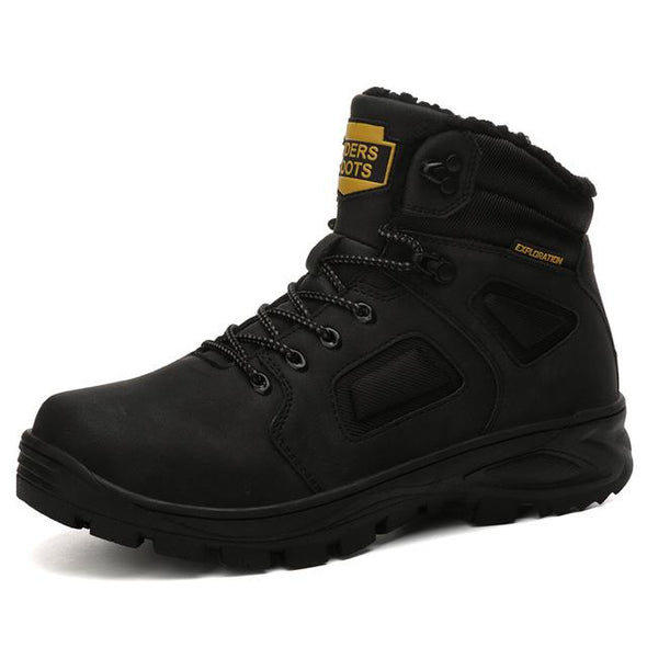 New Snow Boots Men Winter Shoes