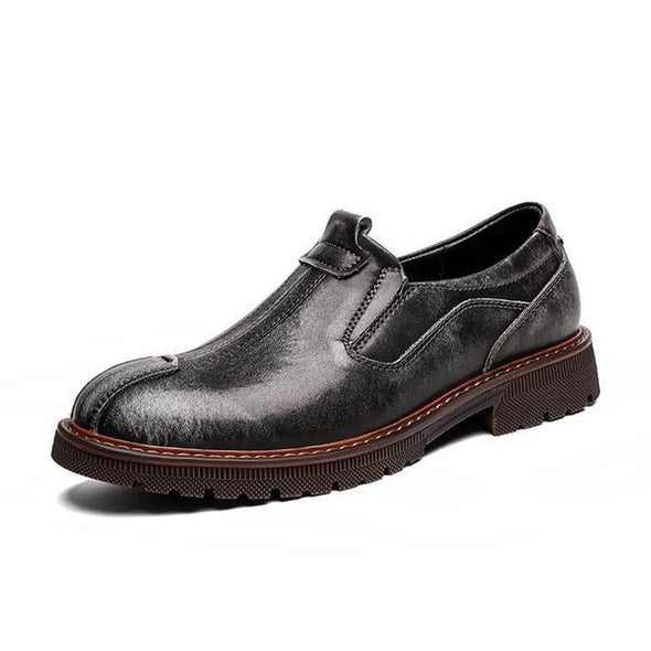 Business Genuine Leather Men Oxfords Bullock Shoes