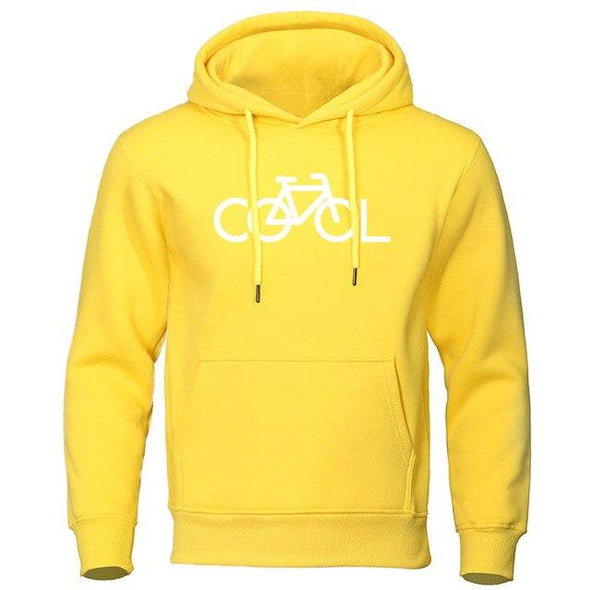 Hoodie Sweatshirt Man Casual Bike It's Cool Hoodies