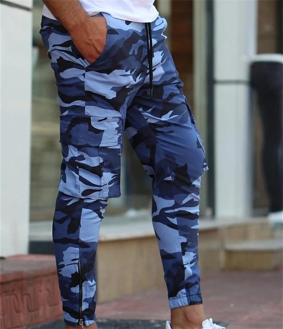New Brand hip-hop Pencil Fashion Joggers Male Fitness Outdoor Camouflage Sweatpants