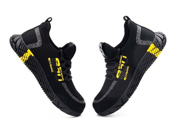 New 2020 Fashion Work Safety Shoes Men's Steel Toe Boots