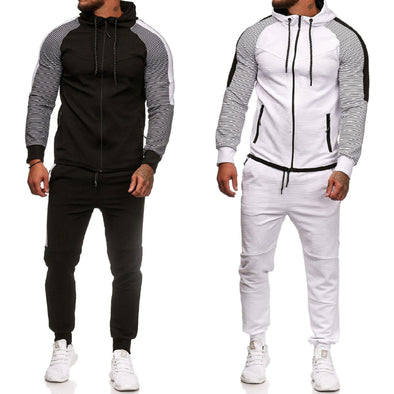 2020 Tracksuit Mens Hood Sports Suits Man